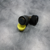 222954-52 8 socket 90, .490 seal + nut